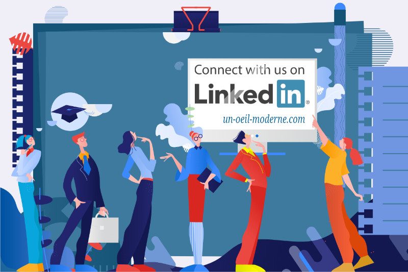 Communication Social Media sur Linkedin